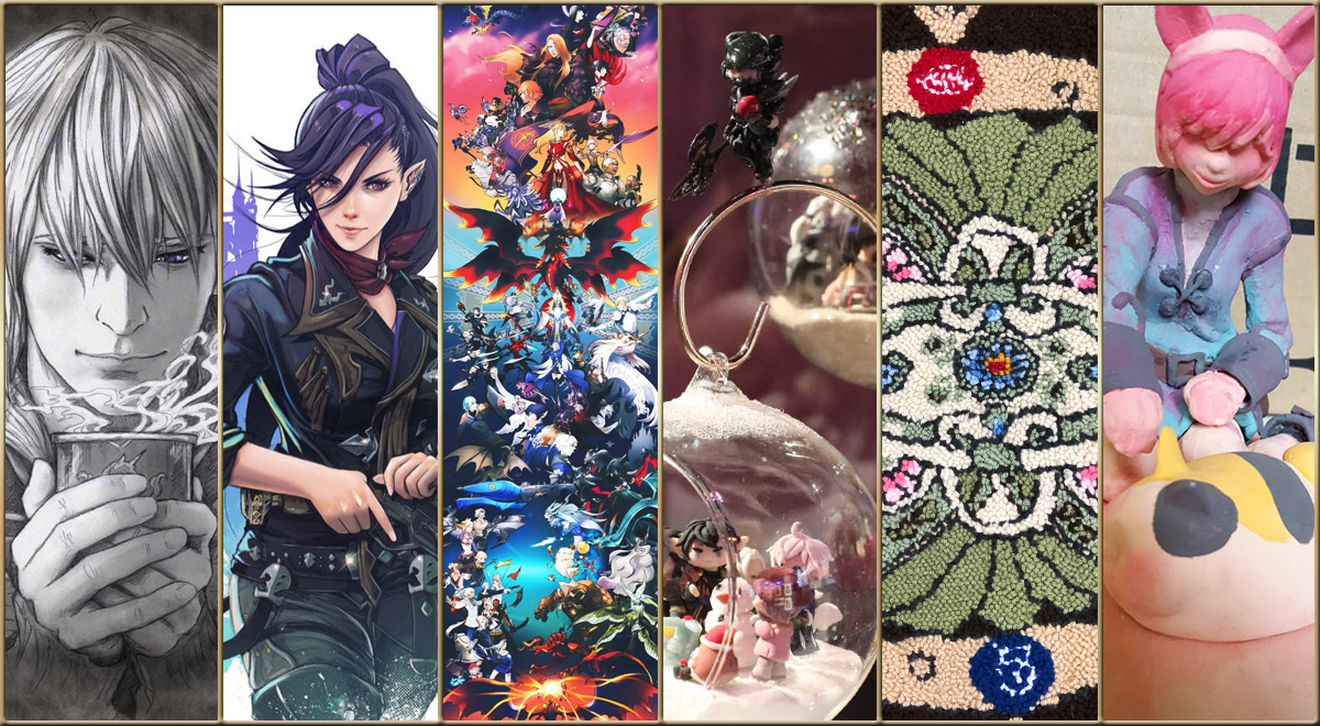 Announcing the Winners of the Art Contest | FINAL FANTASY XIV FAN